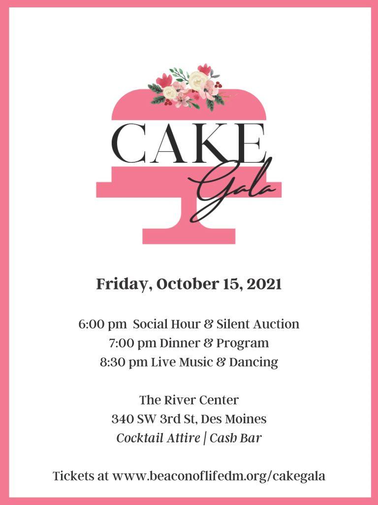 Cake Gala 2021 Poster